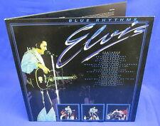 LP ELVIS PRESLEY - BLUE RHYTHMS // UK ENGLAND 2-LP EVEREST RECORDS
