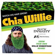 Chia Willie - Duck Dynasty Chia Pet Planter - New Sealed - original version
