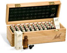 Nelsons,Genuine, Bach™Flower Remedies Wooden Box set. Slightly Imperfect