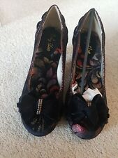 Ruby shoo shoes size 6.  Rhea Rust. Bow front dressy shoe. Other sizes available