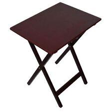 Mahogany Folding Side & End Tables