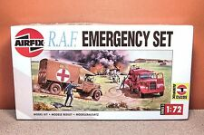 1/72 AIRFIX R.A.F. EMERGENCY SET MODEL KIT # 03304 BUDGET BUILDER