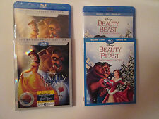 Beauty And The Beast & The Enchanted Christmas (Blurays/DVD/Dig.) W/Slips Disney