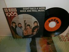 "les beatles""eight days a week""single7""or.fr.juke-boc.odeon:so10128.biem de 1965"