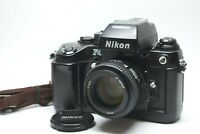 [EXC+++++w/ Strap] NIKON F4 SLR Film Camera w/ AF 50mm f/1.4 D Lens JAPAN #906