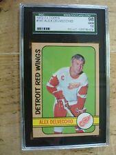 1972 Topps Hockey #141 Alex Delvecchio SGC 98 Gem Mint 10