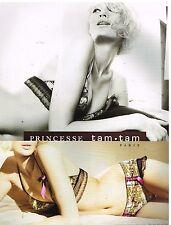 Publicité advertising 2006 ss lingerie clothing bra princesse tam tam