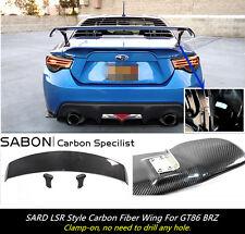 2013-16 Toyota GT86 BRZ Rear Spoiler Wing //SARD Style //Carbon Fiber CF Black