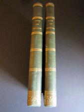 REVUE des REFORMES et du PROGRÈS, ANNÉE 1849, 2 TOMES RELIES DEMI-CUIR.