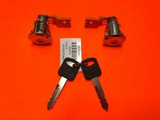 1997-2014 FORD ECONOLINE E SERIES DOOR LOCK CYLINDER SET PAIR NEW 2 KEYS!
