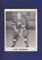 Gary Bergman 1965-66 Coca-Cola Coke Cards Hockey (VGEX) Detroit Red Wings