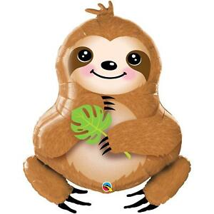 """Sweet Sloth Super Shape Foil Balloon Baby Shower, Birthday Party Decoration 39"""""""