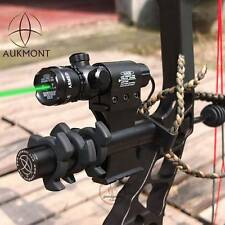 Green Laser Bow Scope + 20mm Rail CNC Stabilizer, Mathews, Hoyt, Browning, PSE