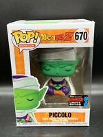 Funko Pop Dragonball Z Meditating Piccolo 670 NYCC 2019 Shared Sticker Exclusive