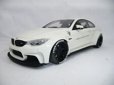 Bmw m4 f82 Coupe Liberty Walk White 1:18 GT-Spirit zm066 Limited 300pcs