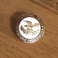 Vintage Enamel National Trust for Historic Preservation Pin