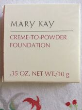 Mary Kay Creme To Powder Foundation New Old Stock Choose Your Color Free BEIGE