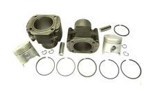 Paar Zylinder Kolben Fiat 500 126 650 ccm cylinder with piston