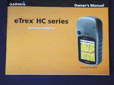 Owner's Manual, for a eTrex Hc Series