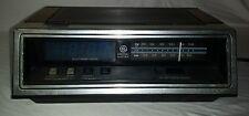 General Electric Ge Model 7-4651B Am Fm Blue Digital Display Clock Radio