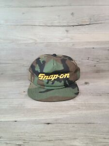 Vintage New Era Snap On Camo Trucker Hat