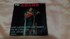 adamo-1 ep chante  espagnol-spain-voir photos