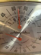 Vintage Airguide Thermometer And Humidity Instrument