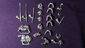 Warhammer Fantasy / AOS Metal chaos KNIGHT bits  (metal miniatures)