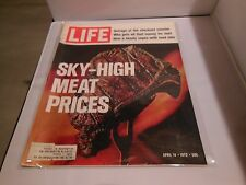 Life Magazine April 14 1972 Sky High Meat Prices Liberated Ladies Inflation