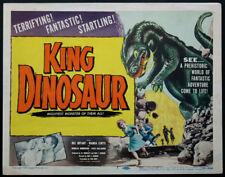 KING DINOSAUR PREHISTORIC MONSTER HORROR 1955 TITLE CARD