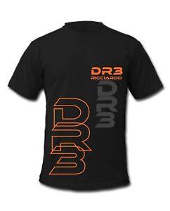 F1 Daniel Ricciardo DR3 Grand Prix Formula 1 Racing Driver T-Shirt