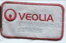 Veolia employee/driver patch environmental services 2-1/2 X 4-1/4 #819