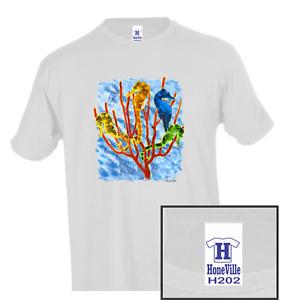 Nature Animals Wildlife Ocean Seahorse HoneVille Unisex T-shirt Youth Adult