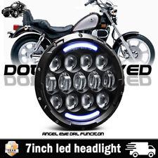 7inch Cafe Racer Bobber Motorcycle Headlight For KAWASAKI VULCAN VN 750 900 800