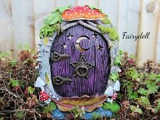 MYSTICAL MOON FOREST FAIRY HOUSE DOOR ~ MAGICAL PIXIE ELF HOME ~ NEW & BOXED
