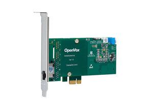 OpenVox D130E Single Span T1 E1 J1 PRI PCI-E Card (Low Profile Advanced Version)