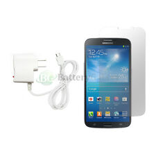 """Charger+LCD Screen Protector for Android Phone Samsung Galaxy Mega 6.3"""" 50+SOLD"""