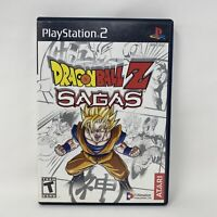 Dragon Ball Z: Sagas (Sony PlayStation 2, 2005) Complete Tested Working PS2