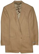 $1450 NEW IMPERFECT HICKEY FREEMAN 2 BUTTON RARE 100% BABY CAMEL JACKET 40L 40 L