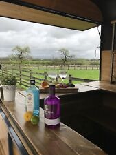 Horse Trailer Mobile Bar~Gin~Fizz ~Coffee Bar Wedding Festival Hire Business