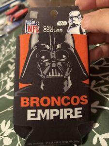 Denver Broncos NFL Can Holder Cooler Bottle Sleeve Star Wars Team Darth Vader