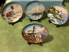 Lighthouses Of America by Charles Carter Limited Editions Plates by Danbury Mint