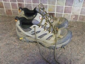 Merrell Moab  Mens Breathable Hiking Walking Trainers Shoes Size UK 8