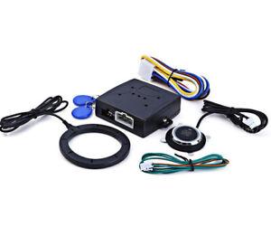 Car Auto Ignition Switch 12V Engine Start Push Button Keyless Entry Starter Kit