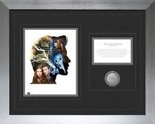 Doctor Who 11th Doctor 50th Anniversary Deluxe Framed Print with Medallion