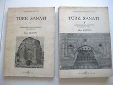 TURCHIA TURK SANATI 1 E 2 ARCHITETTURA OTTOMANA ARCHEOLOGIA ASLANAPA TANTE FOTO