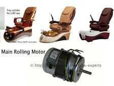 Main Rolling Motor Luxe Moon Valentine Chocolate pedicure spa massage chair