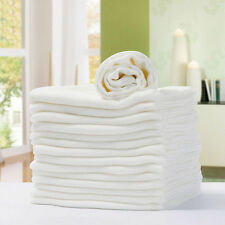 New Baby Prefold Diaper Reusable 2 Layers Bamboo Fiber Nappy Washable Cloth 1PC