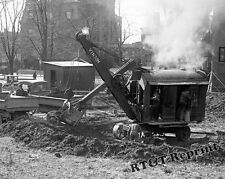 Photograph Vintage Power Shovel Vinson 1923  8x10