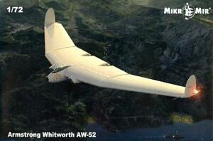 MikroMir Models 1/72 ARMSTRONG WHITWORTH AW-52 British Flying Wing